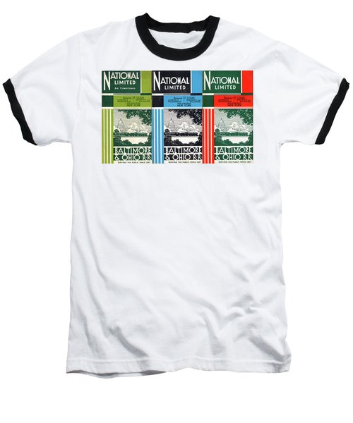 The National Limited Collage Baseball T-Shirt