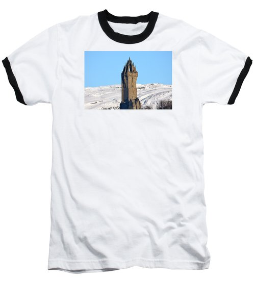 The National Wallace Monument Baseball T-Shirt