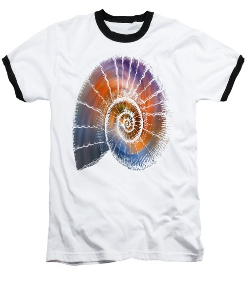 The Nautilus Shell  Transparent Baseball T-Shirt