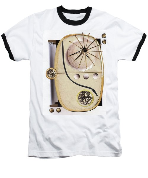 Baseball T-Shirt featuring the painting The Navigator by Michal Mitak Mahgerefteh