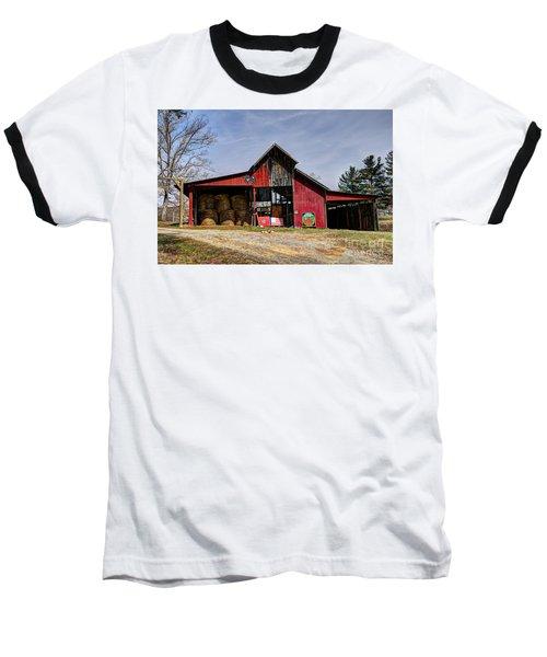 The New Barn Baseball T-Shirt by Paul Mashburn