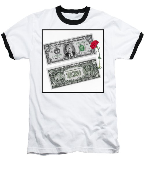 The New Trump Currency Baseball T-Shirt