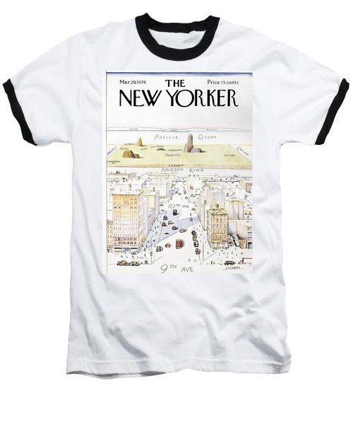 New Yorker March 29, 1976 Baseball T-Shirt
