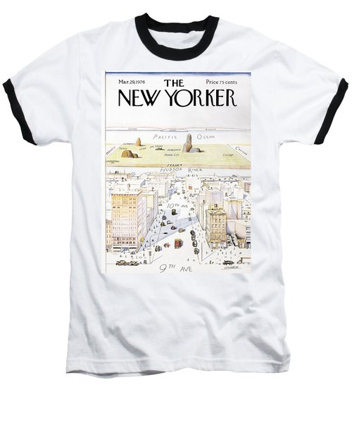 View From 9th Avenue Baseball T-Shirt