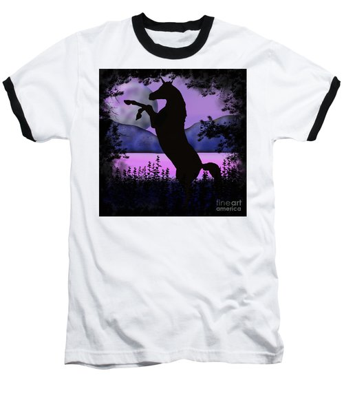 The Night Of The Unicorn Baseball T-Shirt
