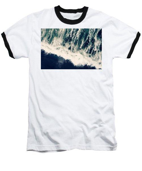 The Ocean Roars Baseball T-Shirt
