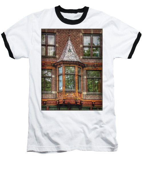 Baseball T-Shirt featuring the photograph The Oriel by Hanny Heim
