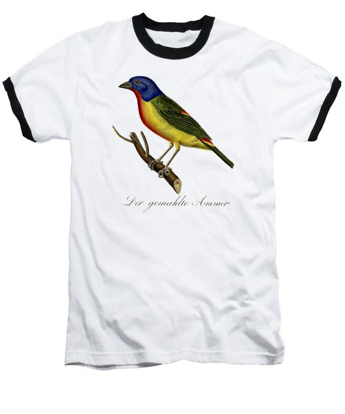 The Painted Bunting Baseball T-Shirt