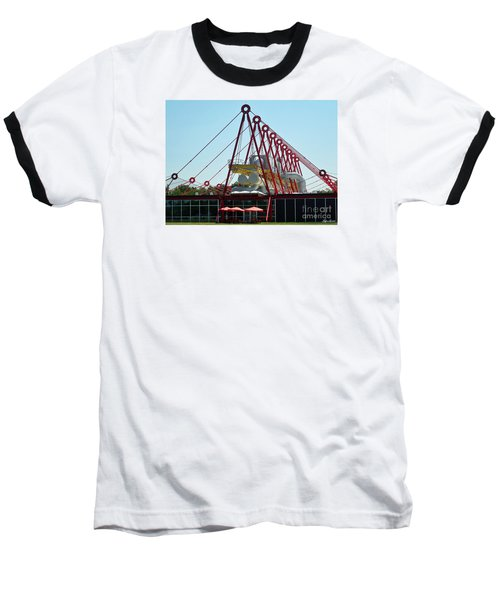 Baseball T-Shirt featuring the photograph The Patscentre by Lyric Lucas