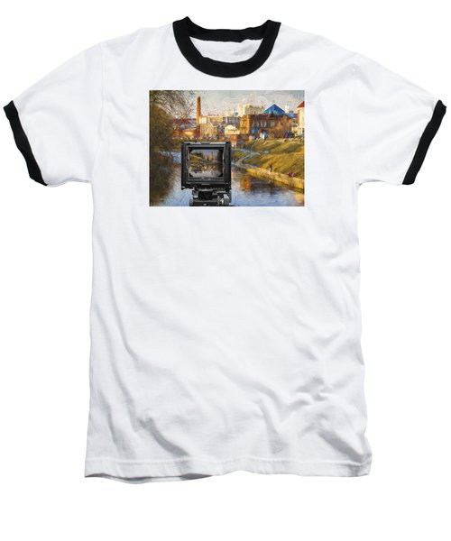 Baseball T-Shirt featuring the photograph The Photographer's Way Of Seeng by Vladimir Kholostykh