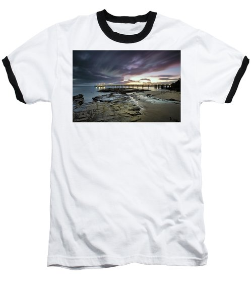 The Pier @ Lorne Baseball T-Shirt