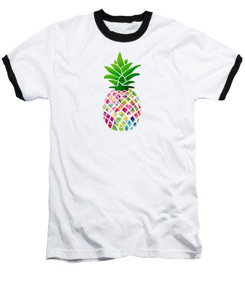 The Pineapple Baseball T-Shirt by Maddie Koerber