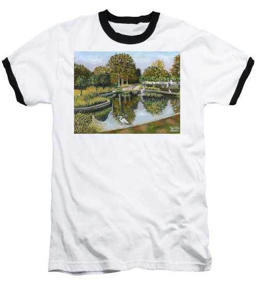 The Pond At Maple Grove Baseball T-Shirt