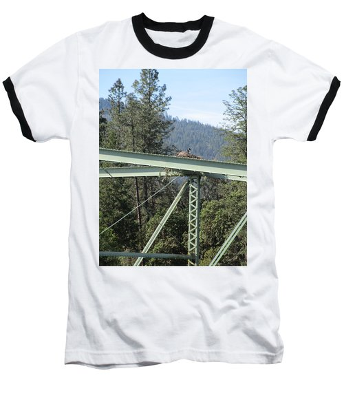 Baseball T-Shirt featuring the photograph The Pretender by Marie Neder