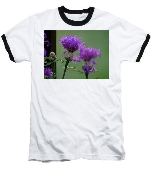 The Purple Bloom Baseball T-Shirt