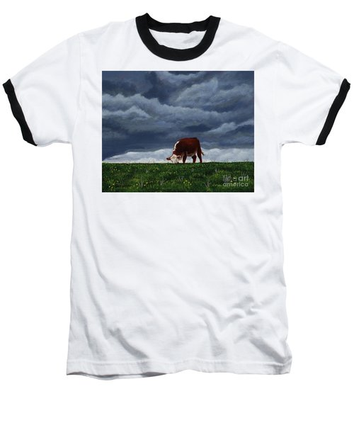 The Quiet Before The Storm Baseball T-Shirt