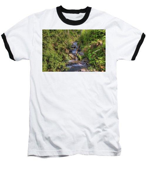 The Quinault Stream 2 Baseball T-Shirt