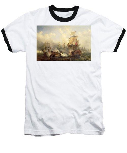 Unknown Title Sea Battle Baseball T-Shirt