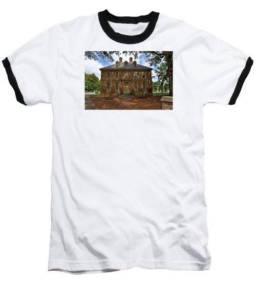 Baseball T-Shirt featuring the photograph The Restored Brafferton by Jerry Gammon