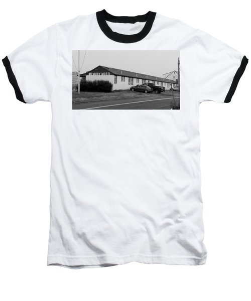 The Rolling Stones' Memory Motel Montauk New York Baseball T-Shirt