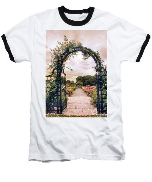 The Rose Allee Baseball T-Shirt