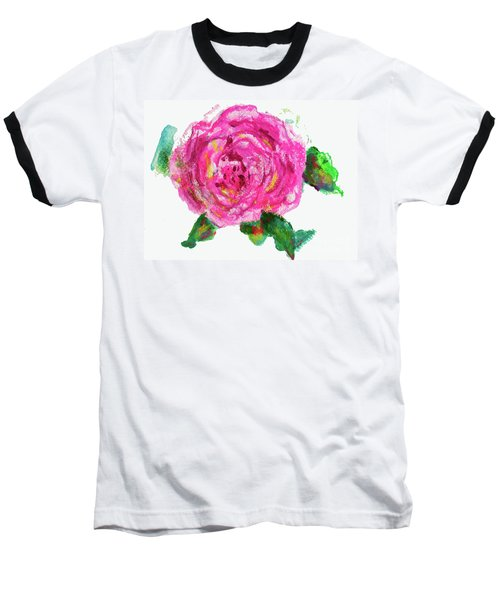 The Rose Baseball T-Shirt by Beth Saffer