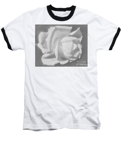 The Rose Baseball T-Shirt by Saribelle Rodriguez