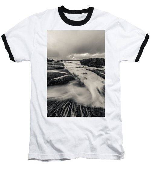 The Rush Of The North Sea Baseball T-Shirt