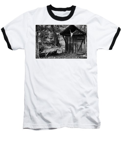 The Shack Baseball T-Shirt by Wade Courtney