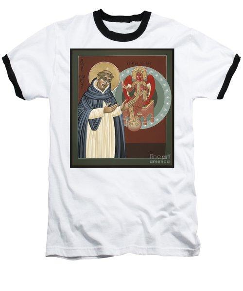 The Silence Of St Thomas Aquinas 097 Baseball T-Shirt