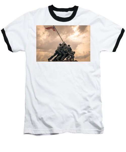 The Skies Over Iwo Jima Baseball T-Shirt