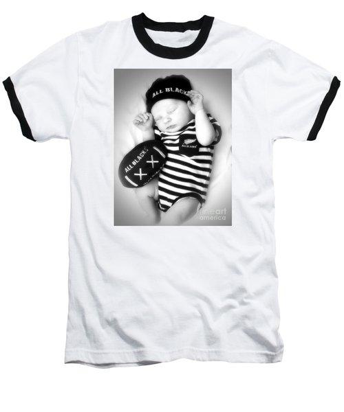 The Smallest All Black Baseball T-Shirt
