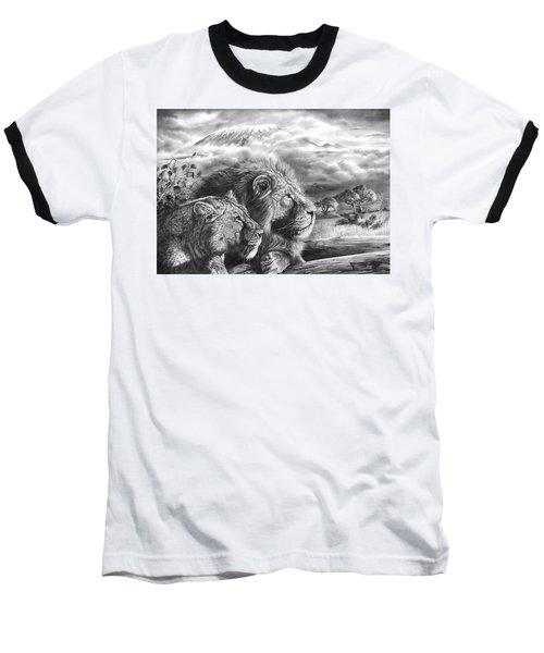 The Snows Of Kilimanjaro Baseball T-Shirt
