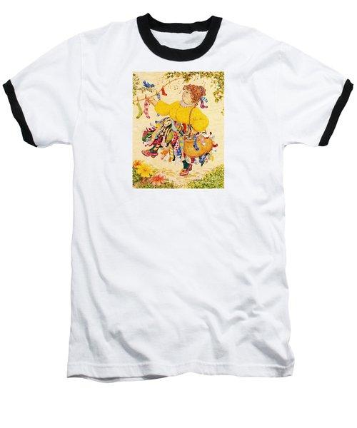 The Sock Lady Baseball T-Shirt