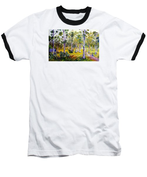The Teak Garden Baseball T-Shirt by Jason Sentuf