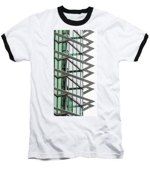 Baseball T-Shirt featuring the photograph The Teeth by Chris Dutton
