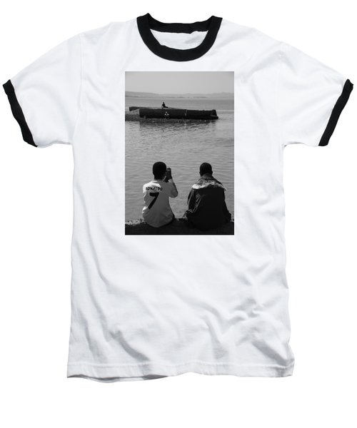 Baseball T-Shirt featuring the photograph The Thoughts Of Mermaids  by Jez C Self