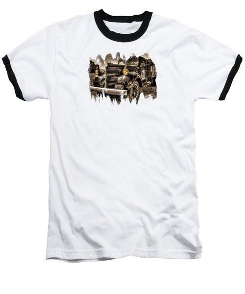Tillamook Cheese Express Baseball T-Shirt