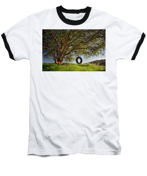 The Tire Swing Baseball T-Shirt