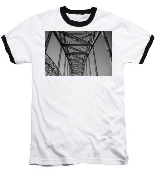 The Top Of Robert Moses Causeway Baseball T-Shirt