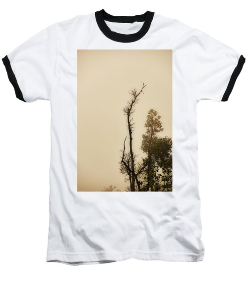 The Trees Against The Mist Baseball T-Shirt