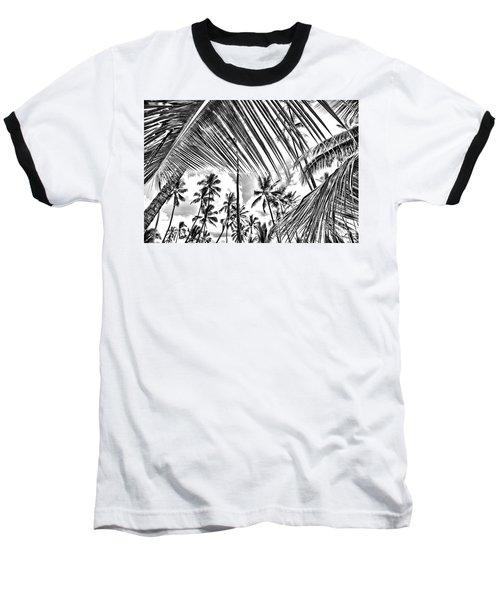 Baseball T-Shirt featuring the photograph The Tropics by DJ Florek