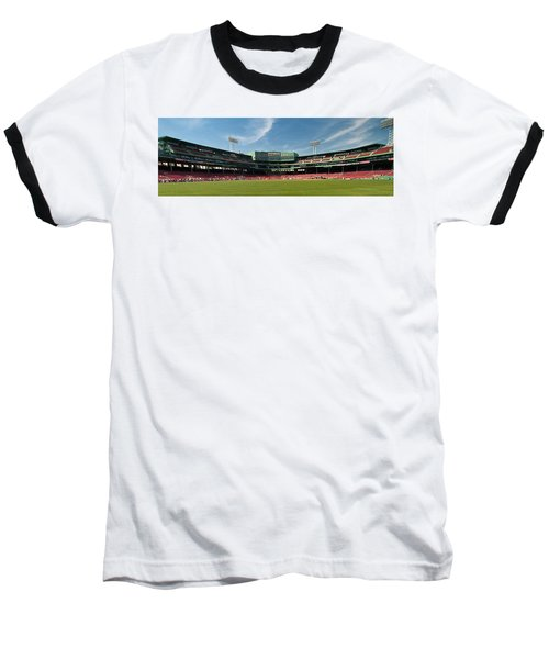 The View From Center Baseball T-Shirt