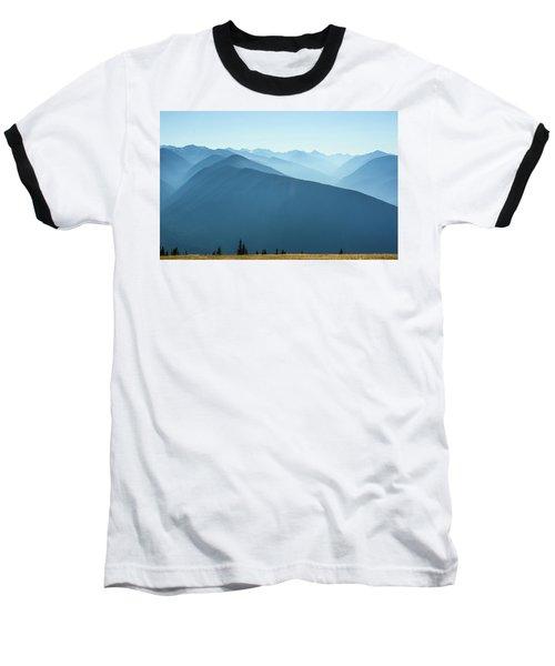 The View From Hurricane Ridge Baseball T-Shirt