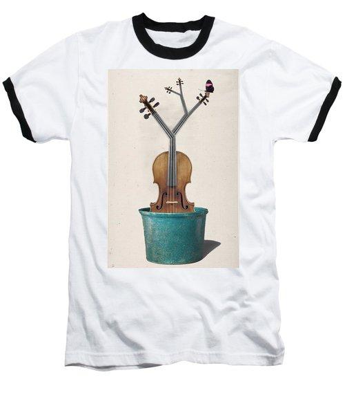 The Voilin Plant Baseball T-Shirt