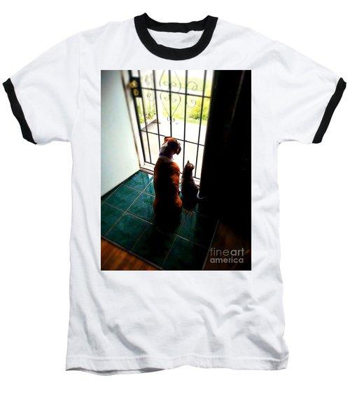 The Watchers Baseball T-Shirt