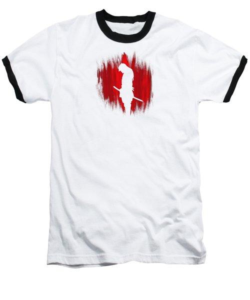 The Way Of The Samurai Warrior Baseball T-Shirt by Philipp Rietz