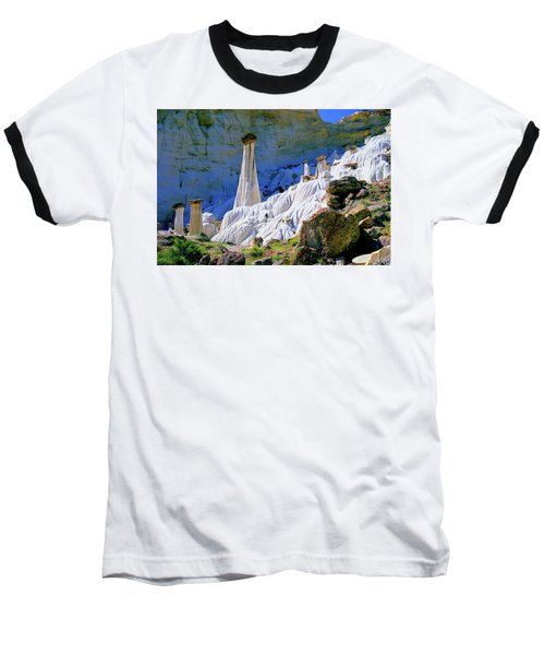 The White Hoodoos Baseball T-Shirt