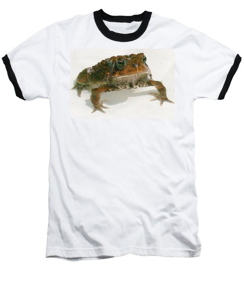 Baseball T-Shirt featuring the digital art The Whole Toad by Barbara S Nickerson