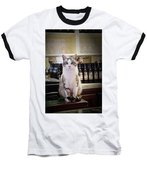 The Winery Cat Baseball T-Shirt